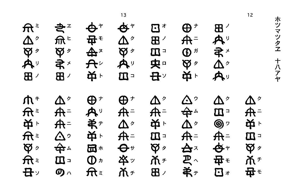 神々が宿る日本の古代文字『ヲシテ』の謎 , NAVER まとめ
